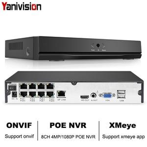 Image 1 - 8CH 4MP 4CH 5MP 1080 P H.265 NVR Full HD 8 Kanaals Beveiliging CCTV NVR ONVIF P2P Cloud Netwerk Video recorder Voor IP Camera Systeem
