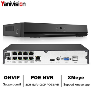 Image 1 - 8CH 4MP 4CH 5MP 1080P H.265 NVR Full HD 8 Channel Security CCTV NVR ONVIF P2P Cloud Network Video Recorder For IP Camera System