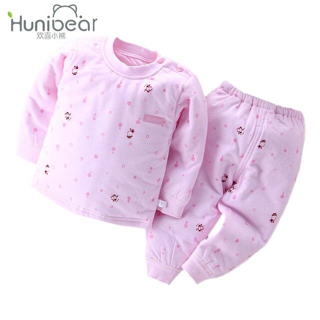Recién nacido Establece Unisex Ropa de Bebé Niña Otoño Invierno Top de  Manga Larga + Pantalones 0163c7d153e4