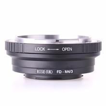 FD M4/3 เลนส์สำหรับ Canon FD Lens to Micro 4/3 M4/3 สำหรับ Olympus EP2 EP3 EPL1 EPL2 EPL3 EPM1 EPM2 EM1 EM5 OMD GF1 GF3