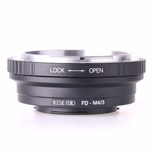 FD M4/3 lens Adapter For Canon FD Lens to Micro 4/3 M4/3 Camera for Olympus EP2 EP3 EPL1 EPL2 EPL3 EPM1 EPM2 EM1 EM5 OMD GF1 GF3