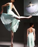 Adult Ballet Dance Leotard Chiffon Tight Elastic Ballet Stage Dancing Costume Ballet Leotards For Women and Girl Dresses
