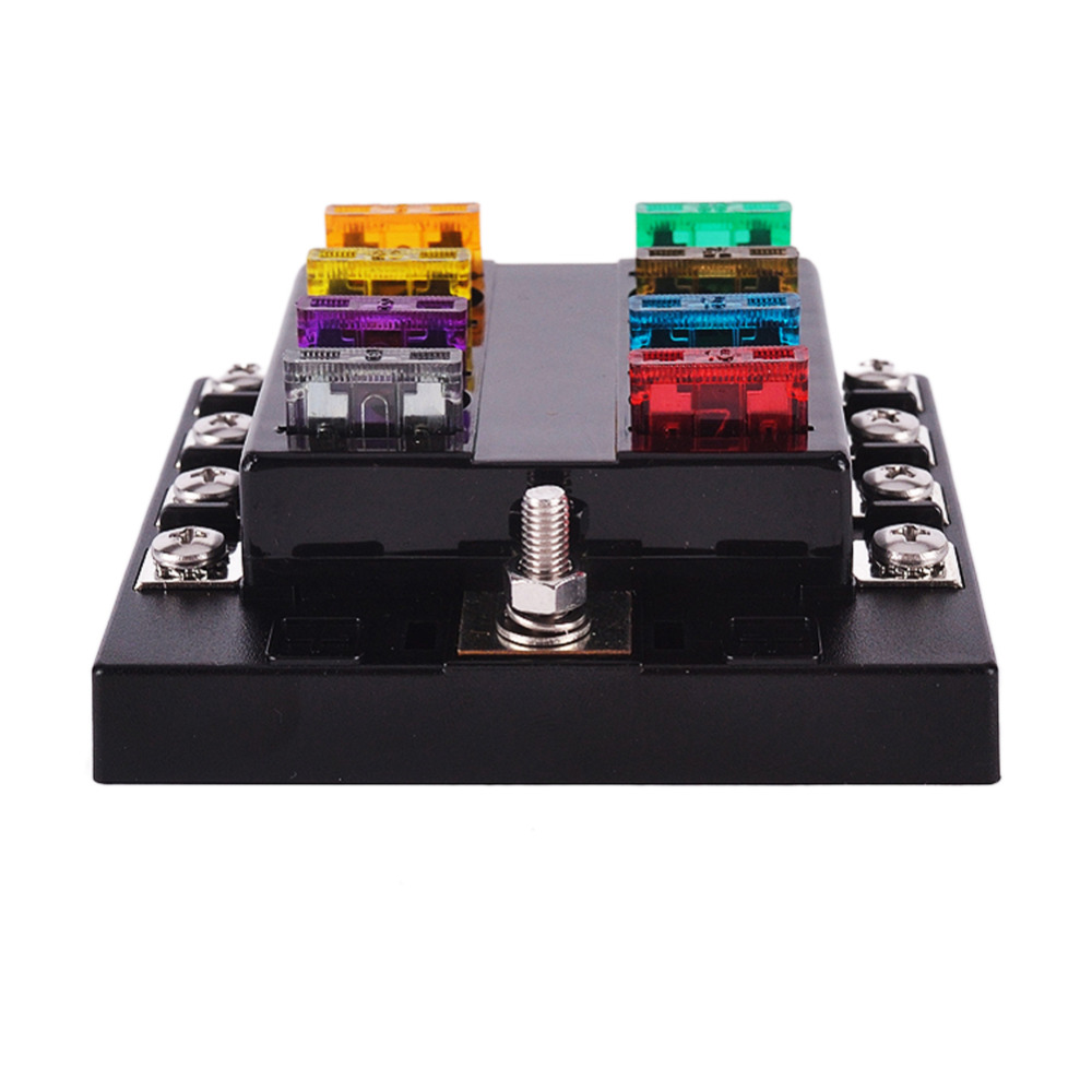 online buy whole fuse tools from fuse tools whole rs 8 way circuit car fuse box 32v dc blade fuse holder box block car fuse accessory