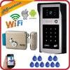 3G 4G Phone Control Wireless Wifi Video Door Phone Intercom 720P HD Outdoor Camera IP Doorphone