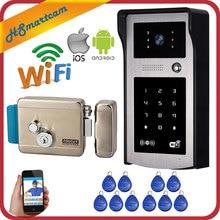 3G/4G Phone Control Wireless Wifi Video Door Phone Intercom 720P HD Outdoor Camera IP Doorphone Doorbell System+ Electric lock