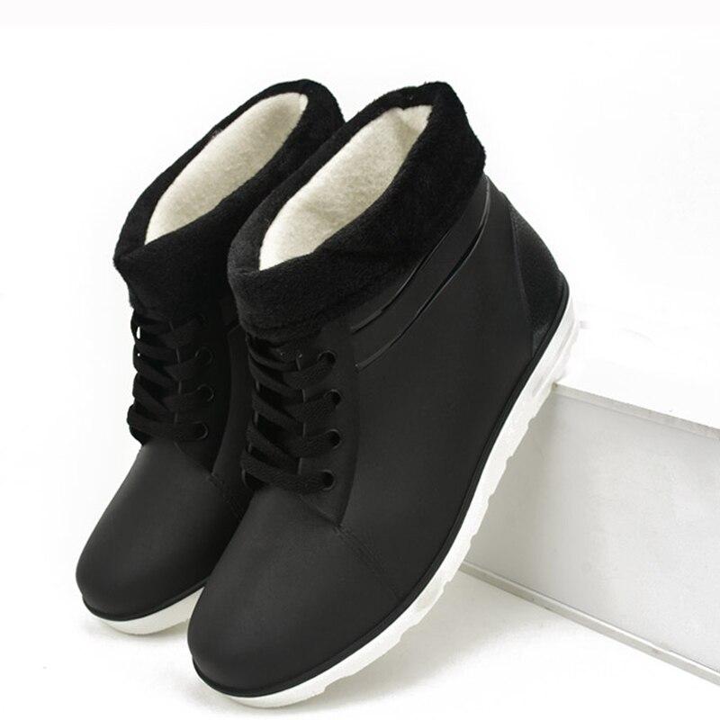 木材冬のブーツ