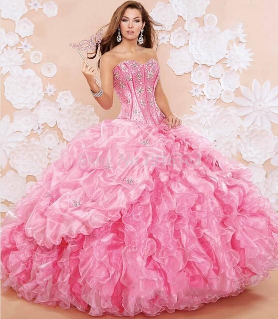 Moderno 2016 elegante Vestidos Quinceanera destacáveis saias Vestidos De 15 Anos Sweet 16 Vestidos Masquerade Vestidos De baile