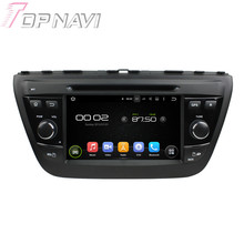 7″ Quad Core Android 5.1 Car GPS Navigation For SUZUKI SX4 2014 S Cross 2014 With Radio Multimedia Video Mirror Link 16GB Flash