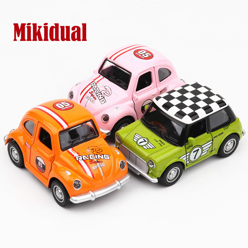 Cartoon Electric Die cast Alloy Car Models Children Metal Vehicle ...