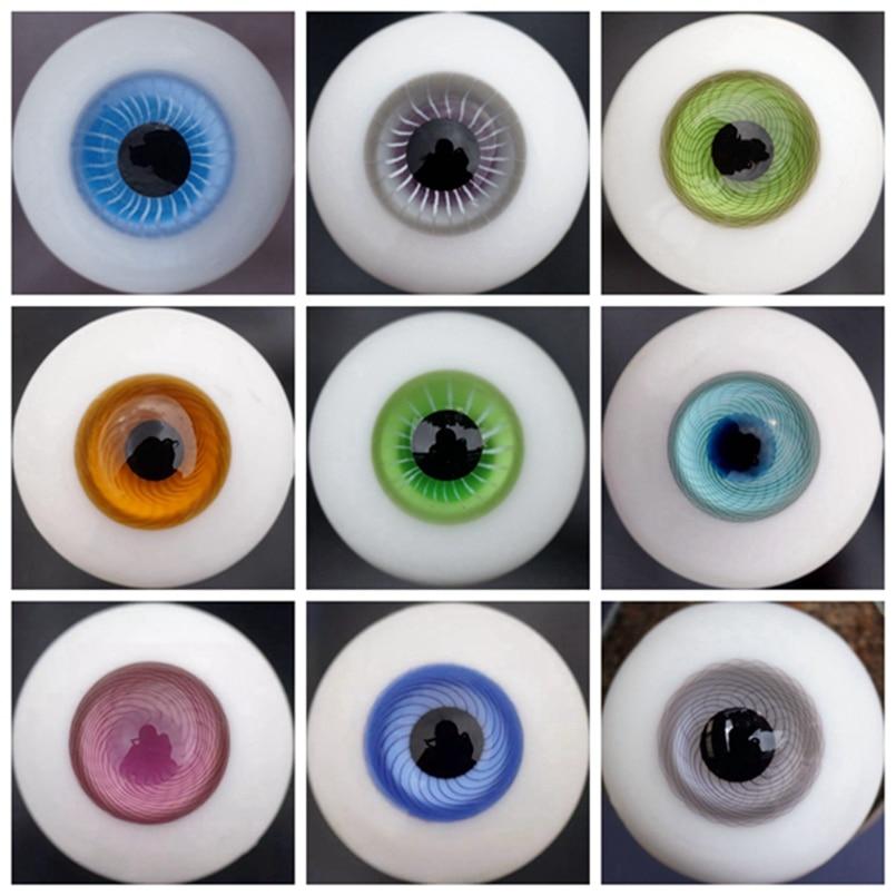 Reborn Ojos De Verre-Paperweight 12MM Muñecas Antiguas O Moderno