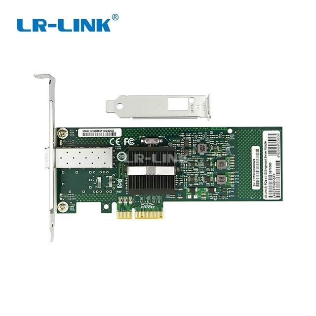 LR LINK 9701EF SFP Gigabit Fiber Optical Ethernet Network Card 1000Mb PCI Express Lan Card Server Adapter INTEL 82546 Nic