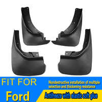 mud guard high quality ABS plastic car accssories decoration mud flaps mudguards for ford f150 sharp explorer kuga ecosport