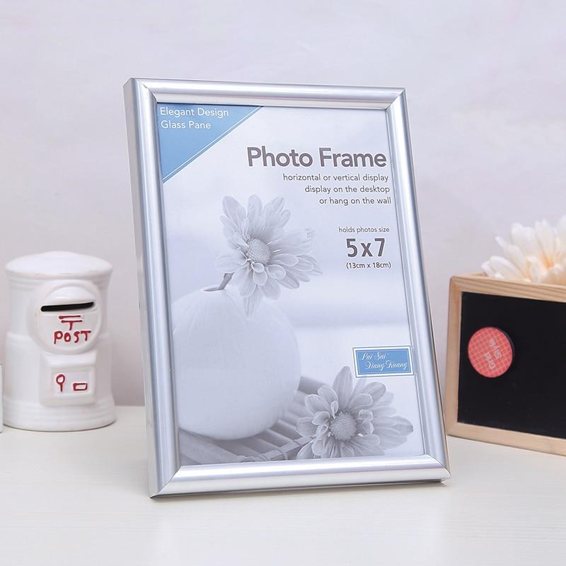 PVC de plstic Marcos phtotgraph para 6x8 \