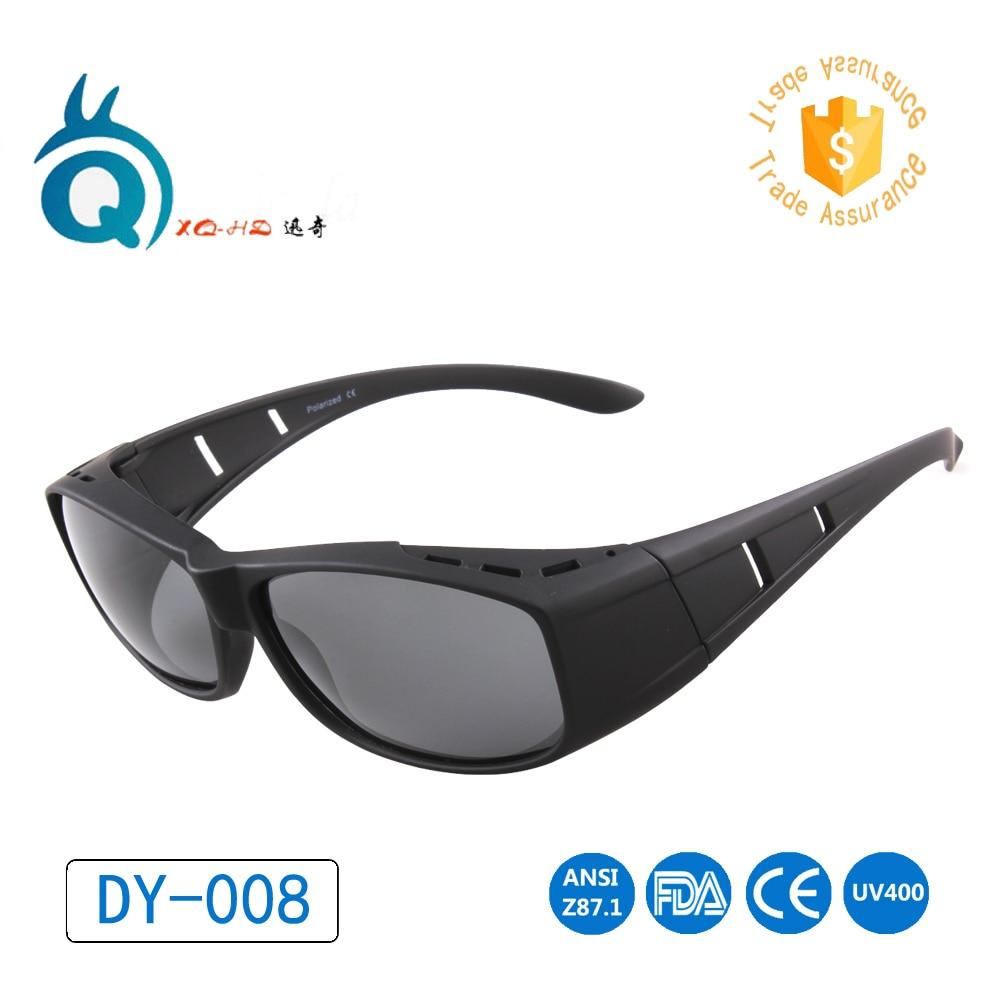 6a3eb38a26b3 Solar Shield Over Glasses Fits Most myopia glasses Polarized sunglasses  free shipping man women cover prescription