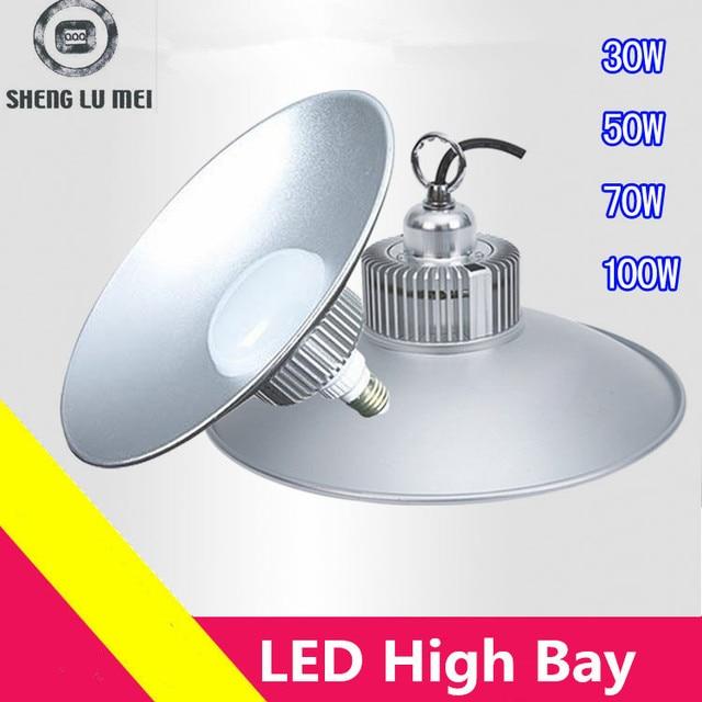 12pcs Lots 30w50w70w100w E27 Led High Bay Low Lighting Warehouse Light