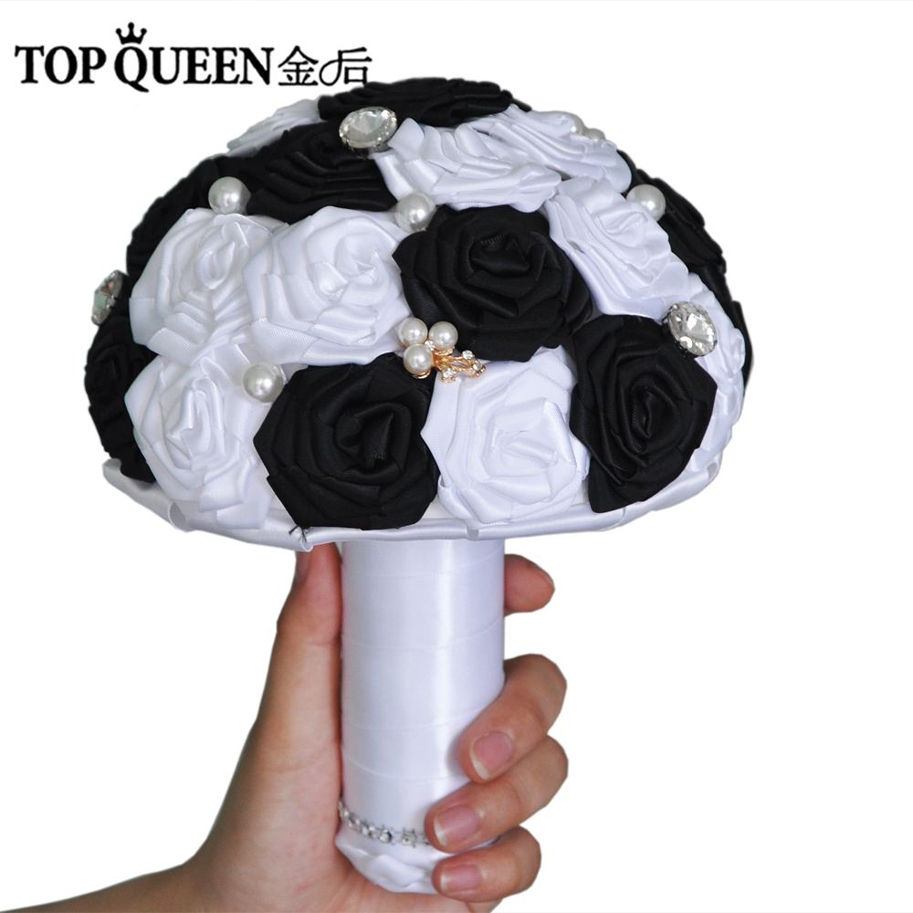 Buy Black Flowers For A Bouquet Wedding And Get Free Shipping On