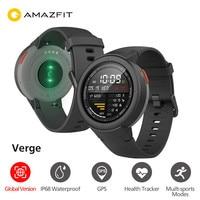 Global Version Huami Watch AMAZFIT Verge Smartwatch IP68 Waterproof GPS GLONASS Multi Sports Smart Watch Fitness Tracker