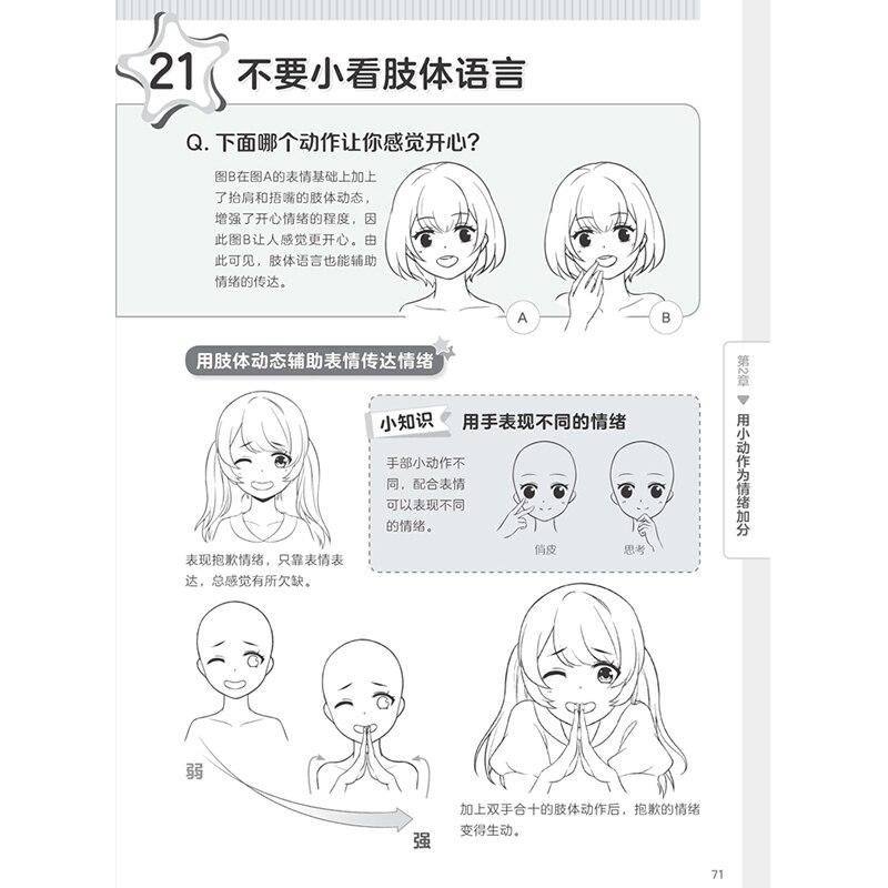 Facile A Dessiner Manga Comment Dessiner Des Expressions Faciales Esquisse Dessin Au Trait Livre Dessin Anime Personnage Techniques Livre Aliexpress