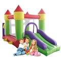 O Envio gratuito de Jogos Infláveis Gigantes Castelo Inflável Trampolim Para As Crianças de Nova Jumpling Silde