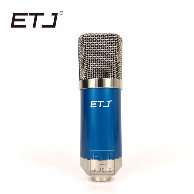 ETJ 700D - Professional Condenser Microphone Studio Recording Metal Microphone