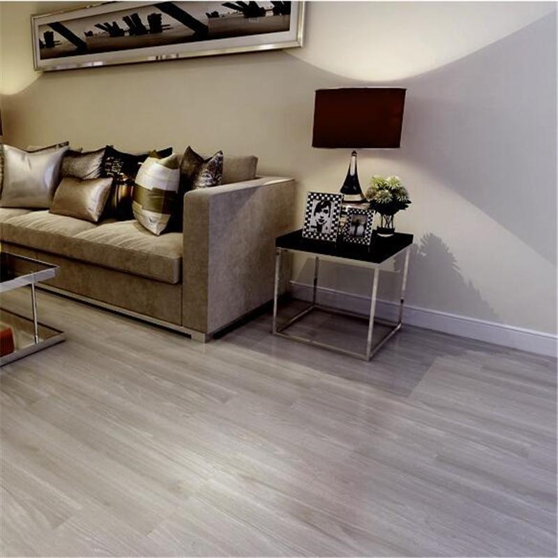 beibehang Self adhesive pvc wood grain floor bedroom kitchen waterproof thick wear resistant environmental protection floor