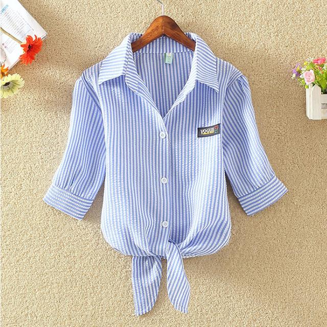 women shirts blouses Striped blouse blusas mujer Korean ladies tops blusas y  Plus Size Clothing 4xl Chemise Femme camisa mujer