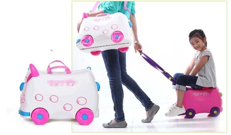 Fashion Creative Locker Boy Girl Baby Cars Toy Box Luggage