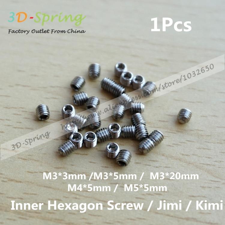 1Pcs M3 M4 Stainless steel Inner