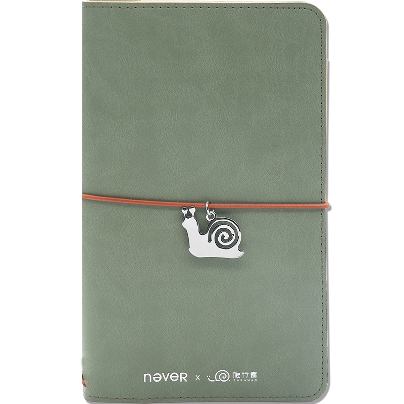 все цены на Never Papaman Series Travelers Notebook Bullet Journal Diary With Metal Pen Blank Paper Planner Stationery Store School Supplies онлайн