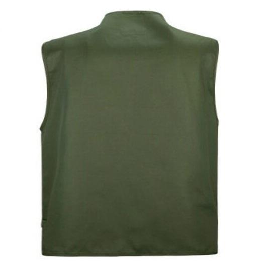 Men Multi-Pocket Classic Waistcoat Male Sleeveless Unloading Solid Coat Work Vest Photographer Tactical Male Fishing Vest,GA132