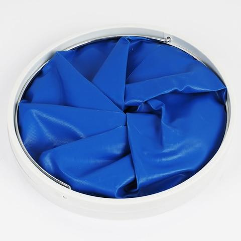 dobravel produtos de limpeza retratil baldes