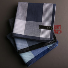 Классический мужской Клетчатый Карманный платок мужской подарок на день рождения хлопковый носовой платок квадратный удобный мягкий носовой платок