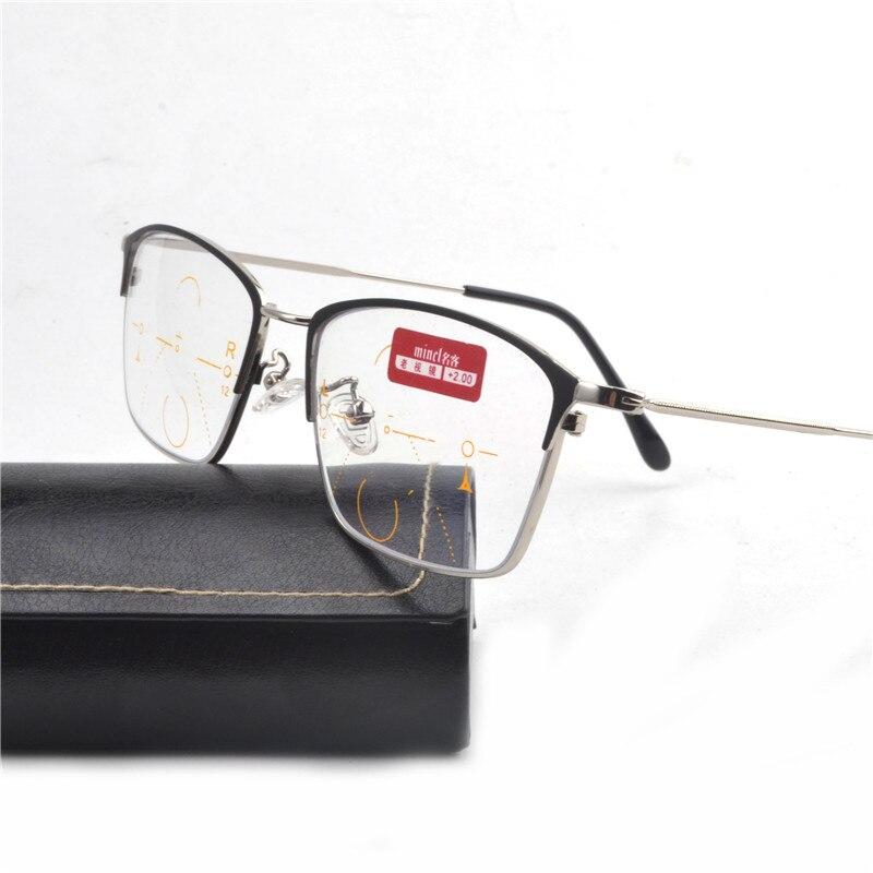 d98d118f203 High End Progressive Multifocal Reading Glasses Bifocal Reading Eyeglasses  See Near And Far Eyewear Women Men oggles FML-in Reading Glasses from Men s  ...