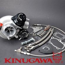 """Kinugawa заготовка турбокомпрессора 2,"""" TD05H-18G 8 см T25 5 болт внутренний закрытый w/предохранительный клапан"""