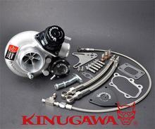 Kinugawa Billet Turbocharger 2.4″ TD05H-18G 8cm T25 5 Bolt Internal Gated w/ Blow Off Valve