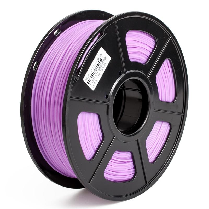 Green Red Purple Yellow Blue Colour DIY painting prints 3D Printer Filament ABS 1.75mm Luminous Environmental materials 3d printer 1 75mm abs filament blue 130g