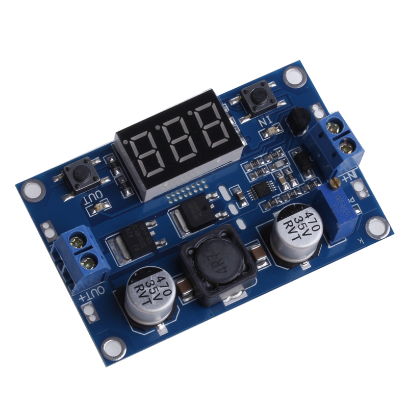 цена на DC 3.5~35V 100W LTC1871 Booster Step Up Module Converter Regulated Power Supply