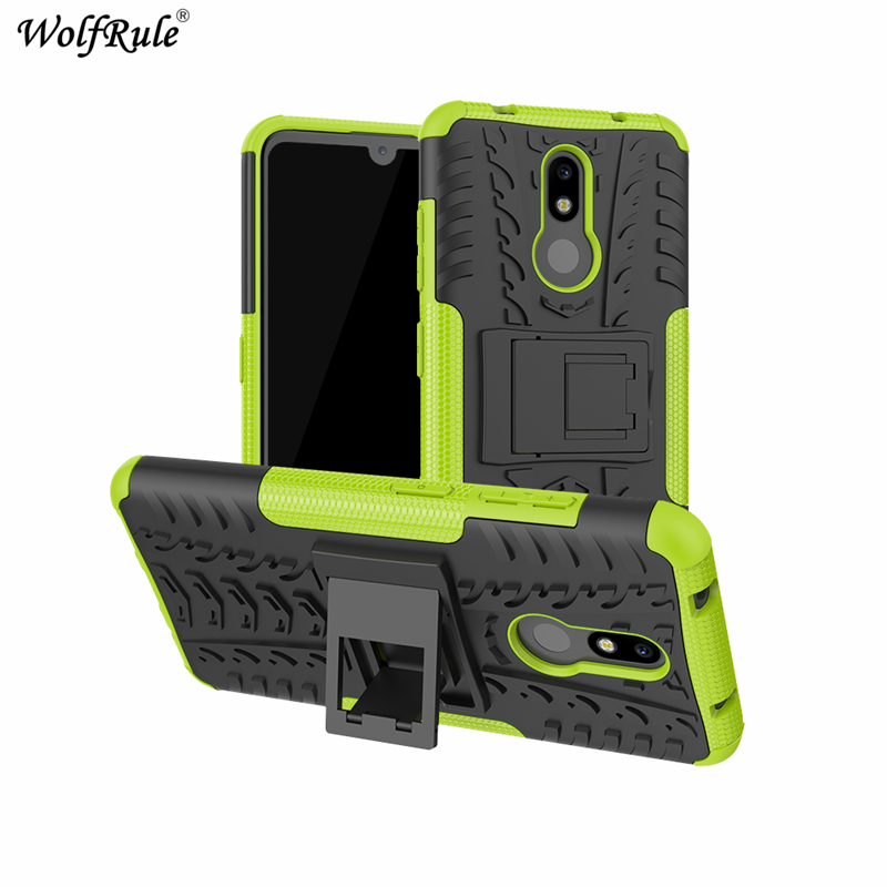 "Image 4 - Phone Case sFor Nokia 3.2 Case 6.26"" Dual Layer Armor Shells TPU+PC Shockproof Cover For Nokia 3.2 Cover For Nokia 3.2 2019 Case-in Fitted Cases from Cellphones & Telecommunications"