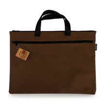 Canvas Men Handbag A4 File Folder Document Bag Business Briefcase Paper Storage Organizer Bag Stationery School