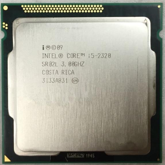 Intel Core I5-2320 I5 2320 3.0 GHz Quad-Core CPU Processor 6M 95W LGA 1155