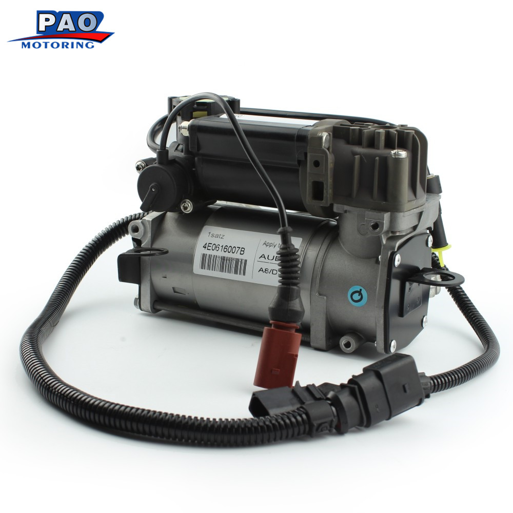 New Air Suspension Compressor For <font><b>Audi</b></font> <font><b>A8</b></font> S8 <font><b>D3</b></font> 4E Air Pump OEM 4E0616007 4E0616005D 4E0616007B 4E0616005H image