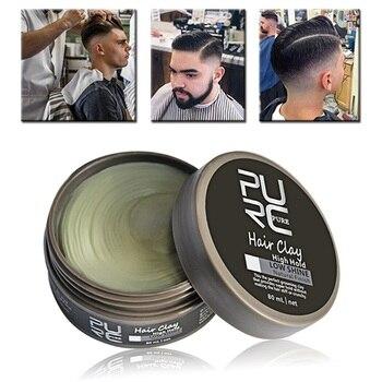 Original Argila Cabelo Pomadas & hair styling wax Alta Hold Ceras argila cabelo Baixo Brilho Para Estilo de Cabelo dos homens nova