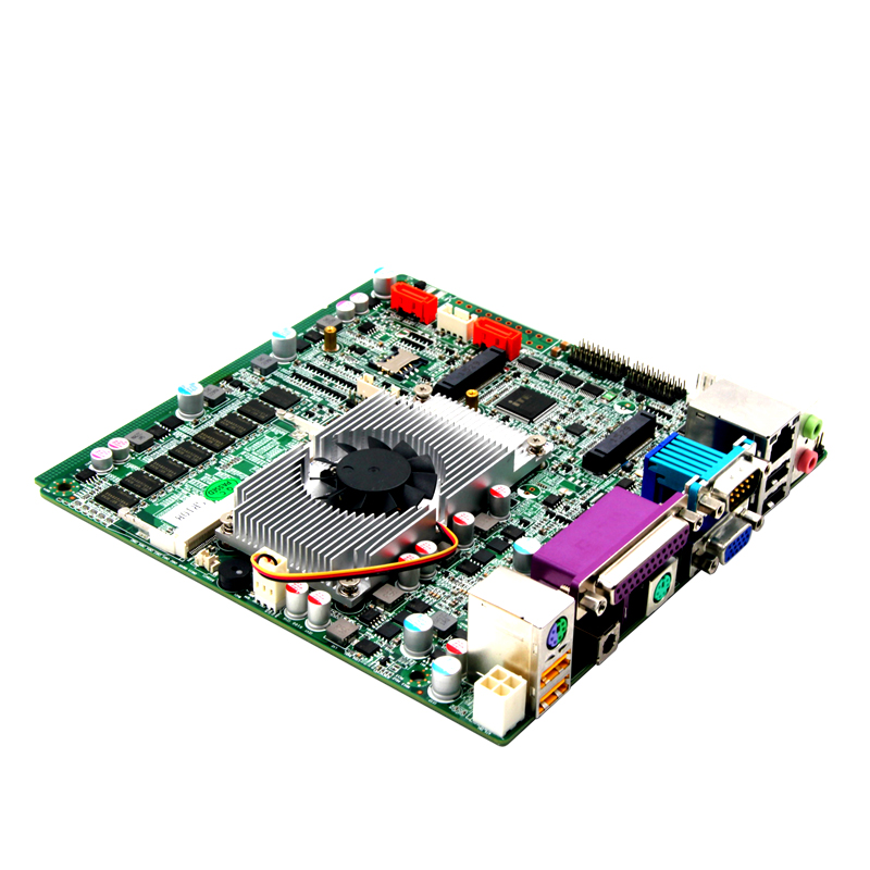 все цены на Thin Fanless Mini-ITX Celeron 1037U motherboard support 3G and Wifi онлайн