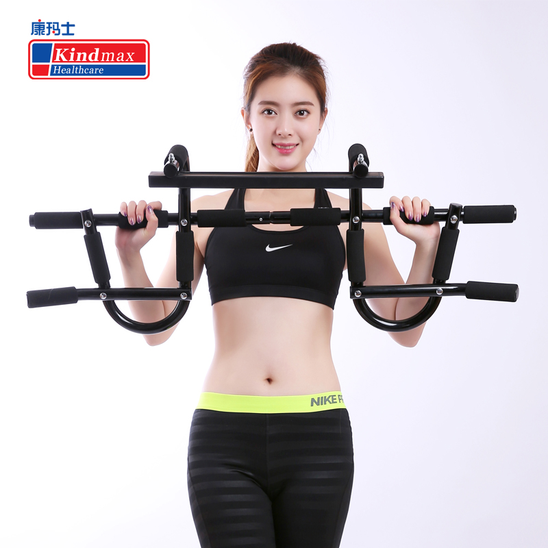 a7bc5ab331d Kindmax Multi-function Pull Up Bar Door Home Gym Horizontal Bar Chin Up  Bicep Blaster