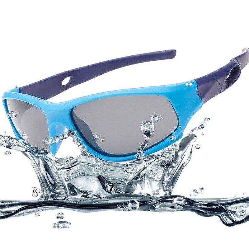 Mignon bébé lunettes de soleil polarisées enfants enfant filles garçons Sport lunettes TR90 Polaroid lunettes de soleil nuances infantile oculos S816