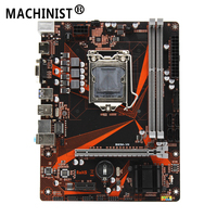 B85M-VH B85 LGA 1150 USB 3.0 16G DDR3 Dual Channel 1600/1333/1066 DIMM Desktop Motherboard For Intel Core 2/3 i3/i5/i7