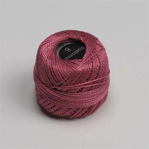 Размер 8, жемчужная хлопковая нить для вышивки крестиком, размер 43(5 грамм) на шарик, Двойной Мерсеризованный длинный штапельный хлопок, 10 шт./цвет - Цвет: 713