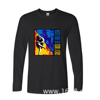 2017 Various Colors Funny Cotton GUNS N ROSES funny long sleeve t shirt