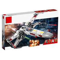 2019 3 style Star Wars Series X Wing Starfighter Compatible Legoing Building Educational Toys Model DIY Blocks Bricks for child