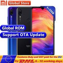 Küresel ROM Xiaomi Redmi Not 7 3 GB 32 GB Smartphone S660 Octa Çekirdek 4000 mAh 6.3